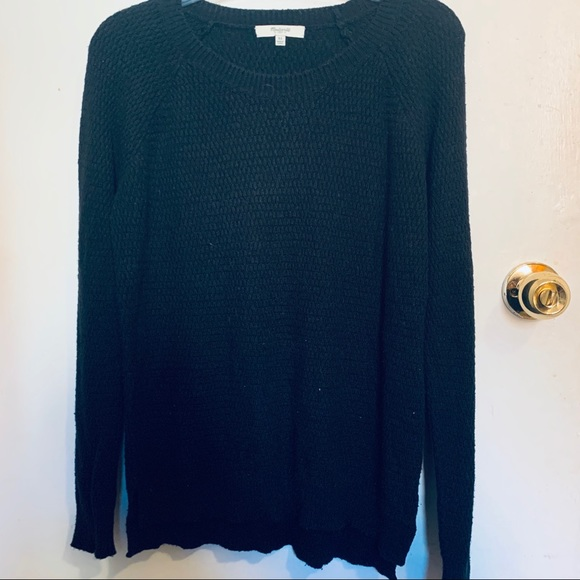 COPY - Madewell Black knitted sweater